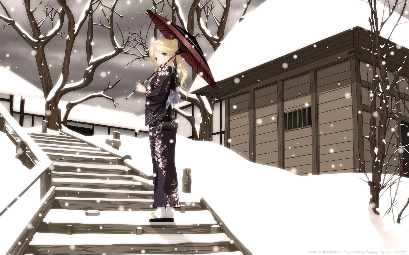3D Anime Girl Wallpapers