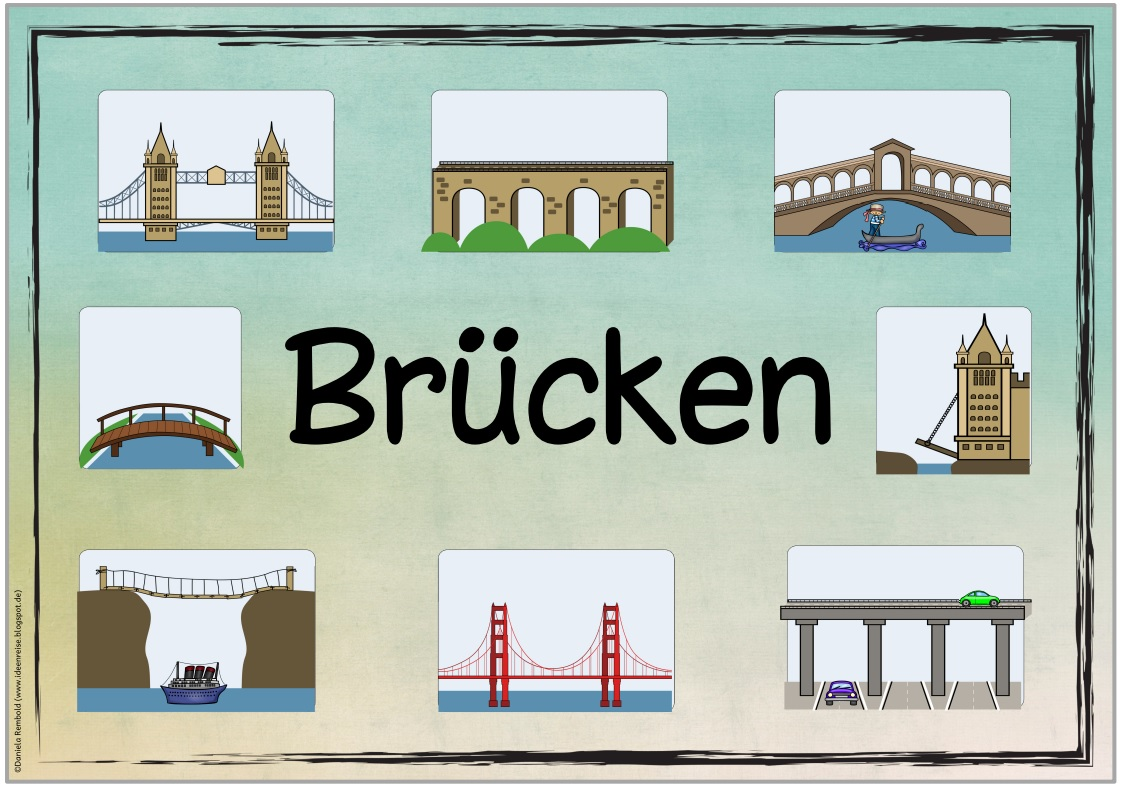 Brückenarten Grundschule