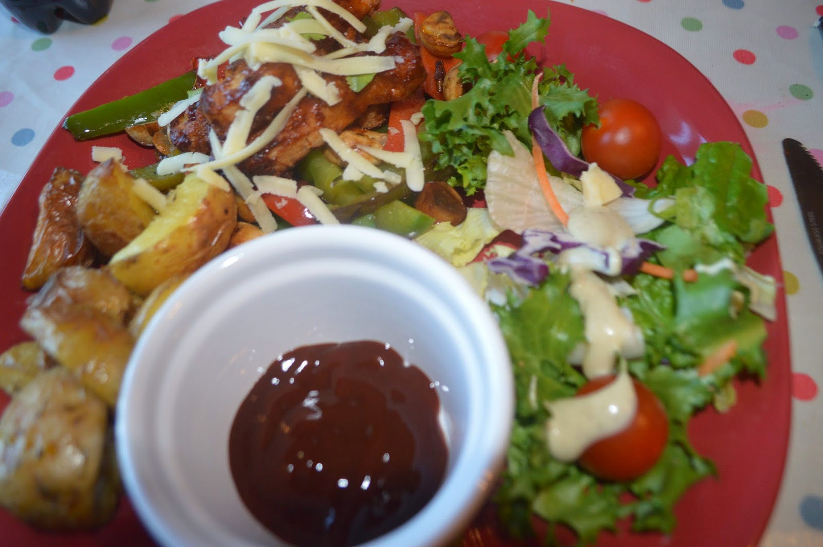 , Heinz Barbecue Chicken Salad: Quick Healthy Family Meal #Asda #shop
