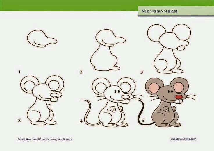 Gambar Kartun Lucu Yang Mudah Digambar Indo Meme