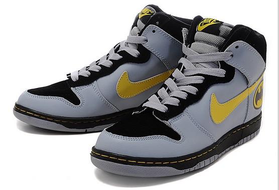 289d30fe6b92fc DC Comics Nike Dunks High Tops Shoes  DC Comics Nike High Tops ...