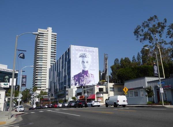 Neon Demon movie billboard