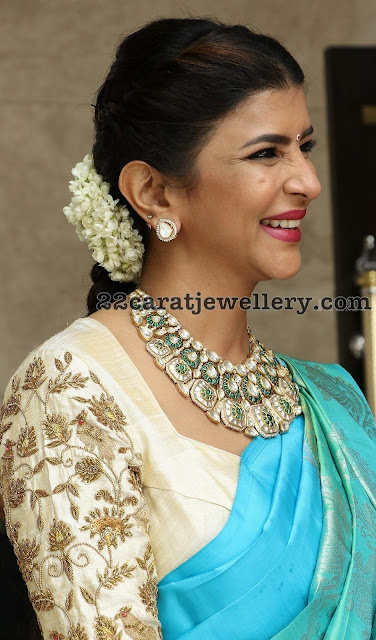 Lakshmi Manchu at Soundrya Rajinikanth Wedding