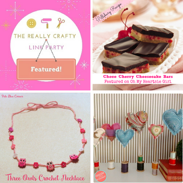 The Really Crafty Link Party #54 featured posts