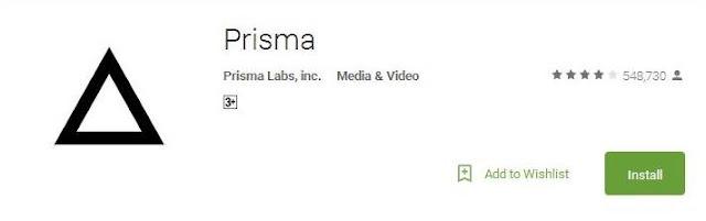 Aplikasi Prisma Edit Foto Kekinian Yang Lebih Artsy