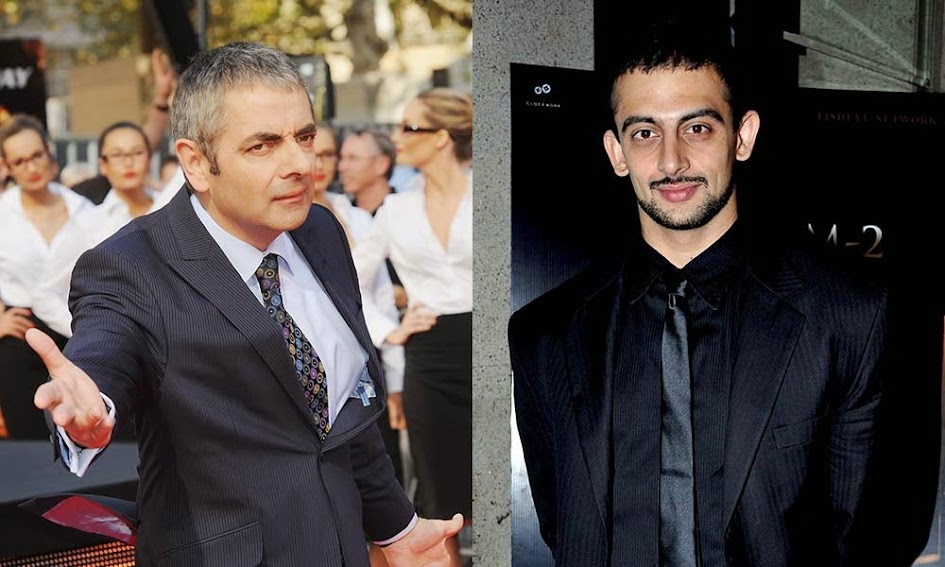 Rowan Atkinson and Arunoday Singh