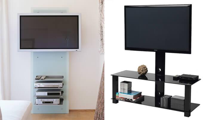 Mobili porta tv in vetro