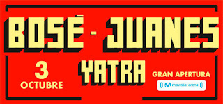 Concierto de Juanes - Bose - Yatra  en Bogotá 2018
