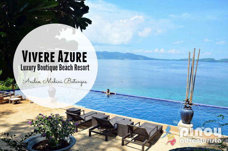 Vivere Azure Beach Resort In Anilao Batangas