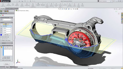 Advanced CAD model