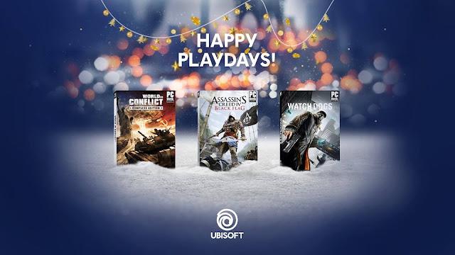 يوبيسوفت تقدم كل من لعبة Watch Dogs , Assassin's Creed IV تم World in Conflict بالمجان لفترة محدودة ، سارع للحصول عليها