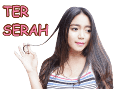 Sticker WhatsApp Keren Raden Revina