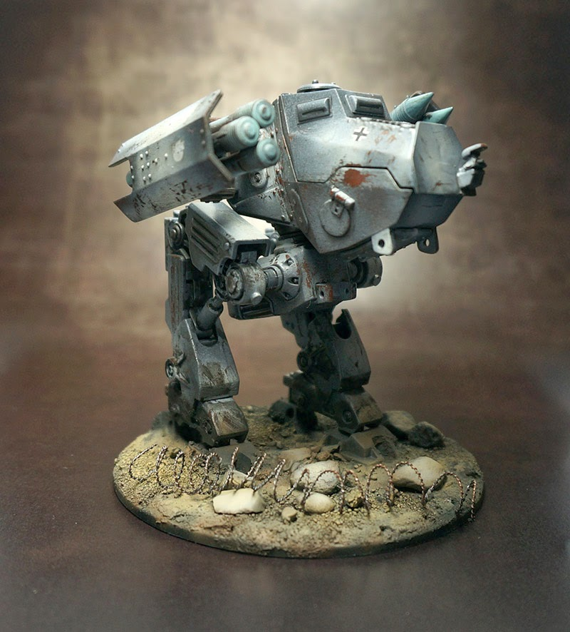 "Dust Axis Light Walker ""Hans"" from Biohazard Painting"