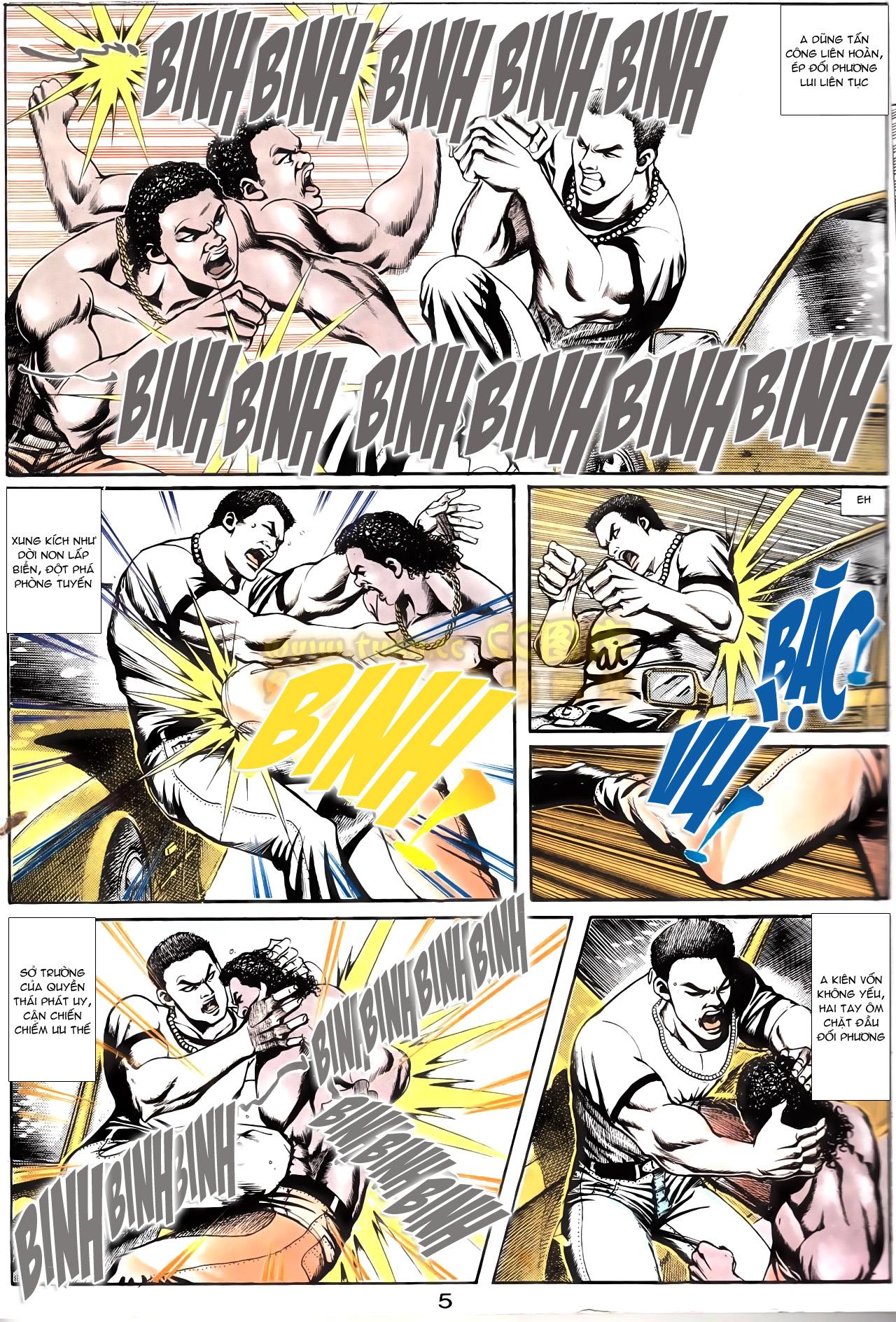 Người Trong Giang Hồ chapter 166: bùng nổ trang 24
