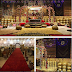 Wow! See the beautiful hall decorations for Zahra Buhari's wedding reception ...photo