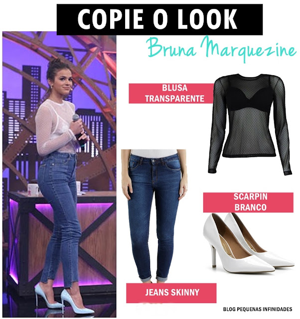 Copie o look da Bruna Marquezine