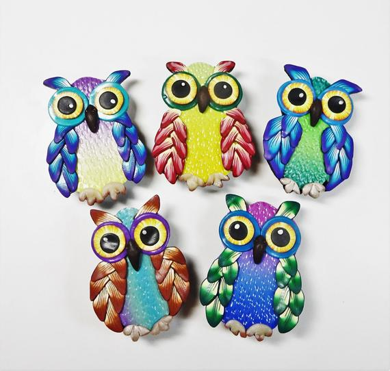 owl polymer clay tutorial by Polyoriginals