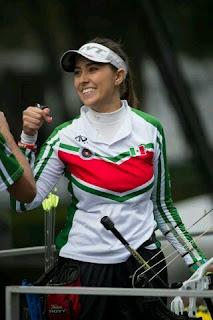 Linda Ochoa Tiro con Arco México