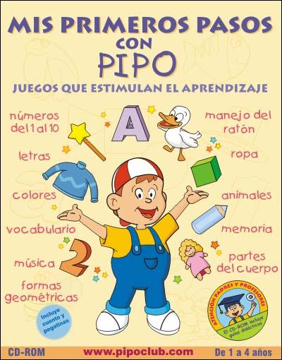 Mis Primeros Pasos Con Pipo Juegos Para Ninos 1 4 Anos Pc Espanol