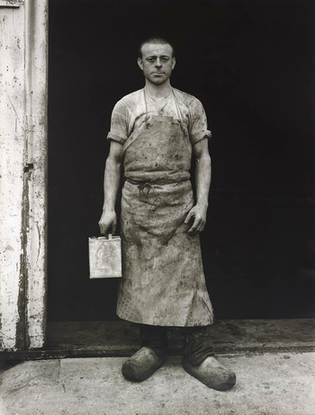 August Sander - Lackarbeiter (Varnisher), 1930/1972