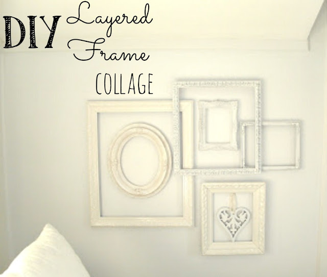 Layered frame collage