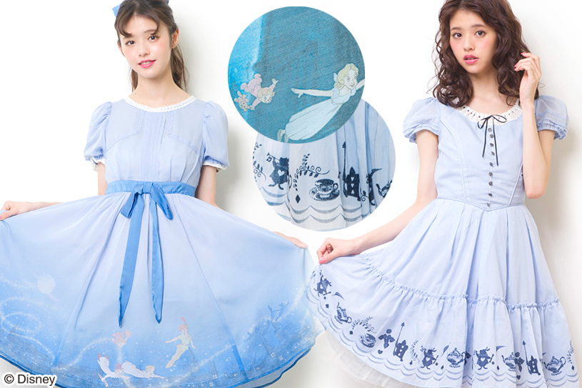 Vestido Disney Wendy Alice in Wonderland Secret Honey
