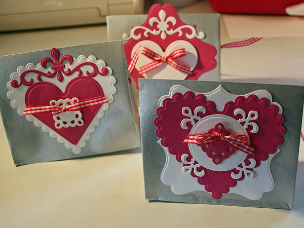 Envelopes become Treat Bags for Valentine's
