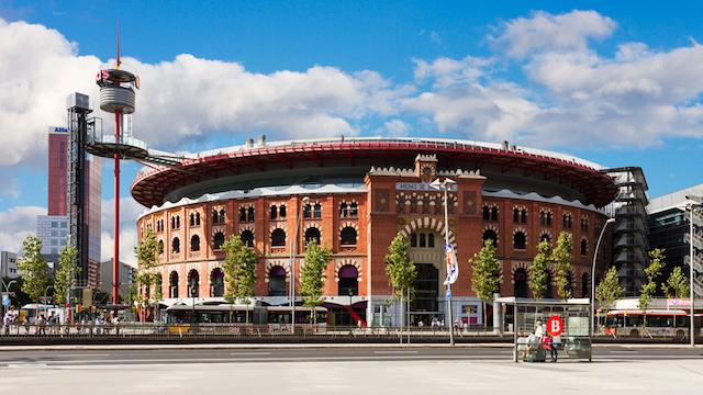 Shopping Las Arenas em Barcelona