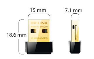 CHIAVETTA USB WIRELESS 150MBPS NANO