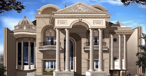 Rumah Mewah Tipe Mediterania