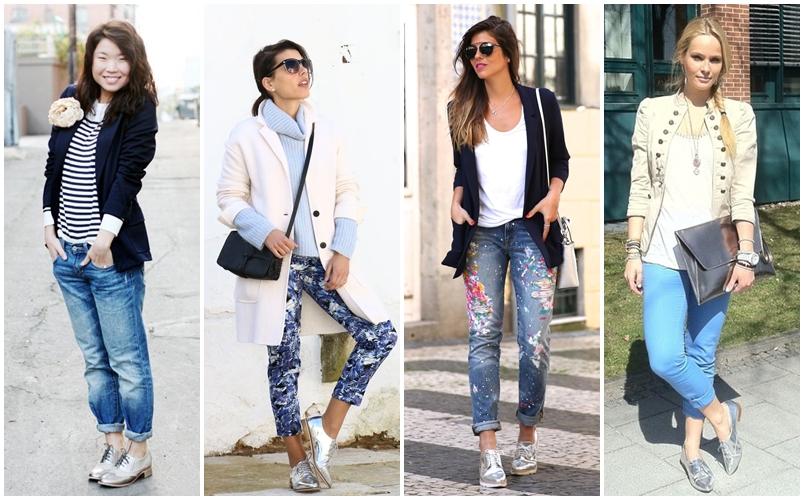 74c0a3fb28 Como Usar Sapato Oxford Feminino Com Cala Jeans ✓ Nangguk Sticker