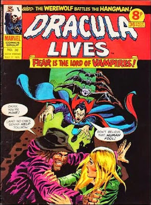Marvel UK, Dracula Lives #30