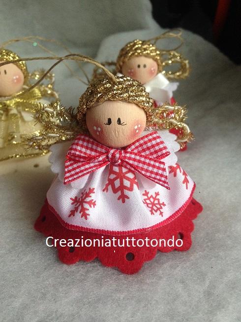 Angeli Lavoretti Di Natale.Creazioni A Tutto Tondo 2016