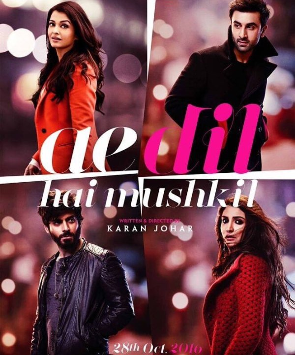 Ae Dil Hai Mushkil (2016) Hindi 720p Blu-Ray 850MB