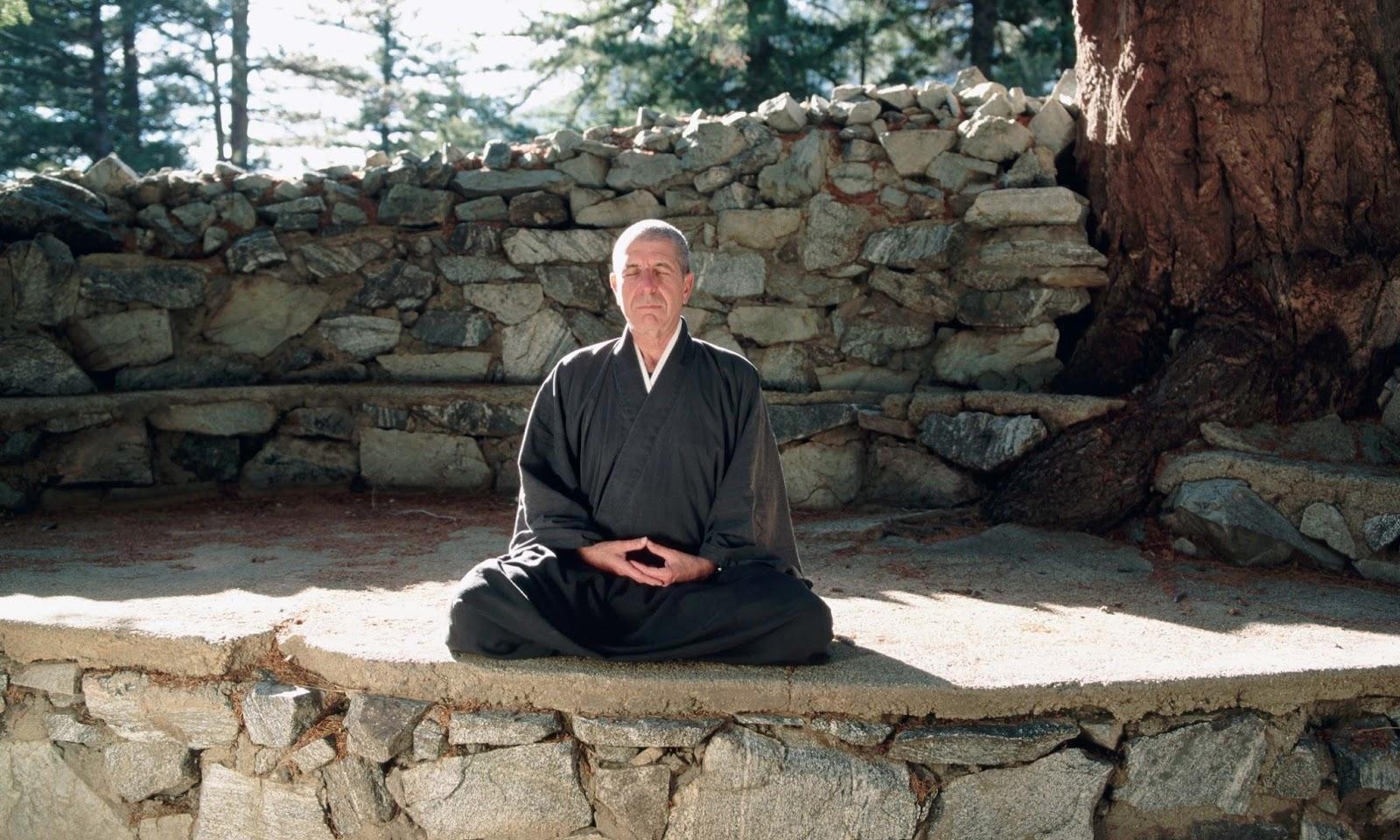 Afbeeldingsresultaat voor leonard cohen buddhist monk
