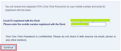 HDFC Bank - Forgot IPIN Password