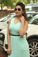 Manjusha in beautiful thin green gown At Jaya Janaki Nayaka le Logo Launch ~  Exclusive 106.JPG