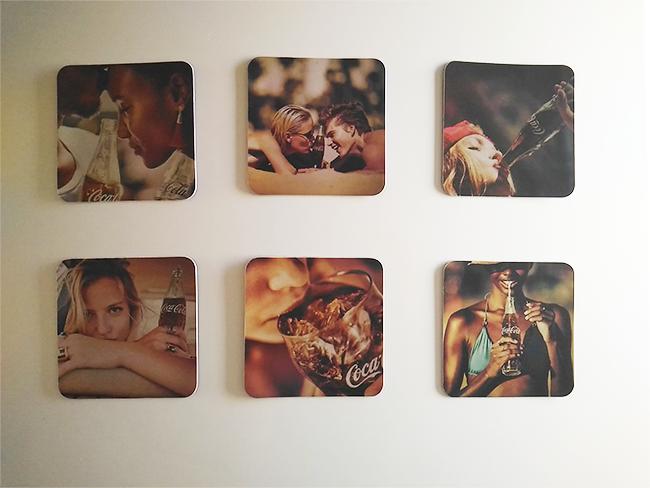Imas de Geladeira Personalizados da Coca-Cola