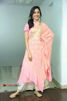 Actress Ritu Varma Pos in Beautiful Pink Anarkali Dress at at Keshava Movie Interview .COM 0153.JPG