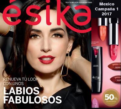 catalogo esika mexico campaña 1 2017
