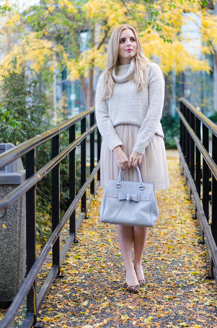 How to style a tulle dress