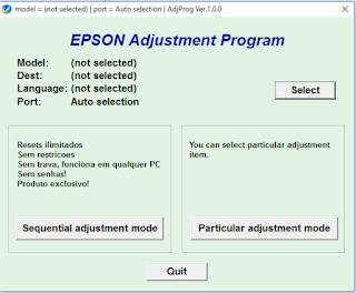 Bagi pengguna komputer dan printer awam Cara Reset Printer Epson L310, L360, L365, L220 dan L120, L130 yang Ngeblink
