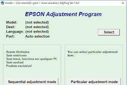 Cara Reset Printer Epson L310, L360, L365, L220 dan L120, L130 yang Ngeblink