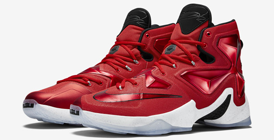 1fc12e28e2a ... wholesale known as the on court edition this nike lebron 13 comes in a  cleveland cavaliers