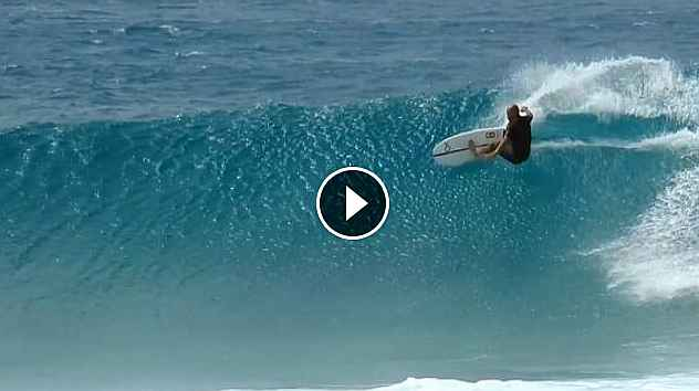 Kelly Slater 21 March 2018 North Shore Oahu