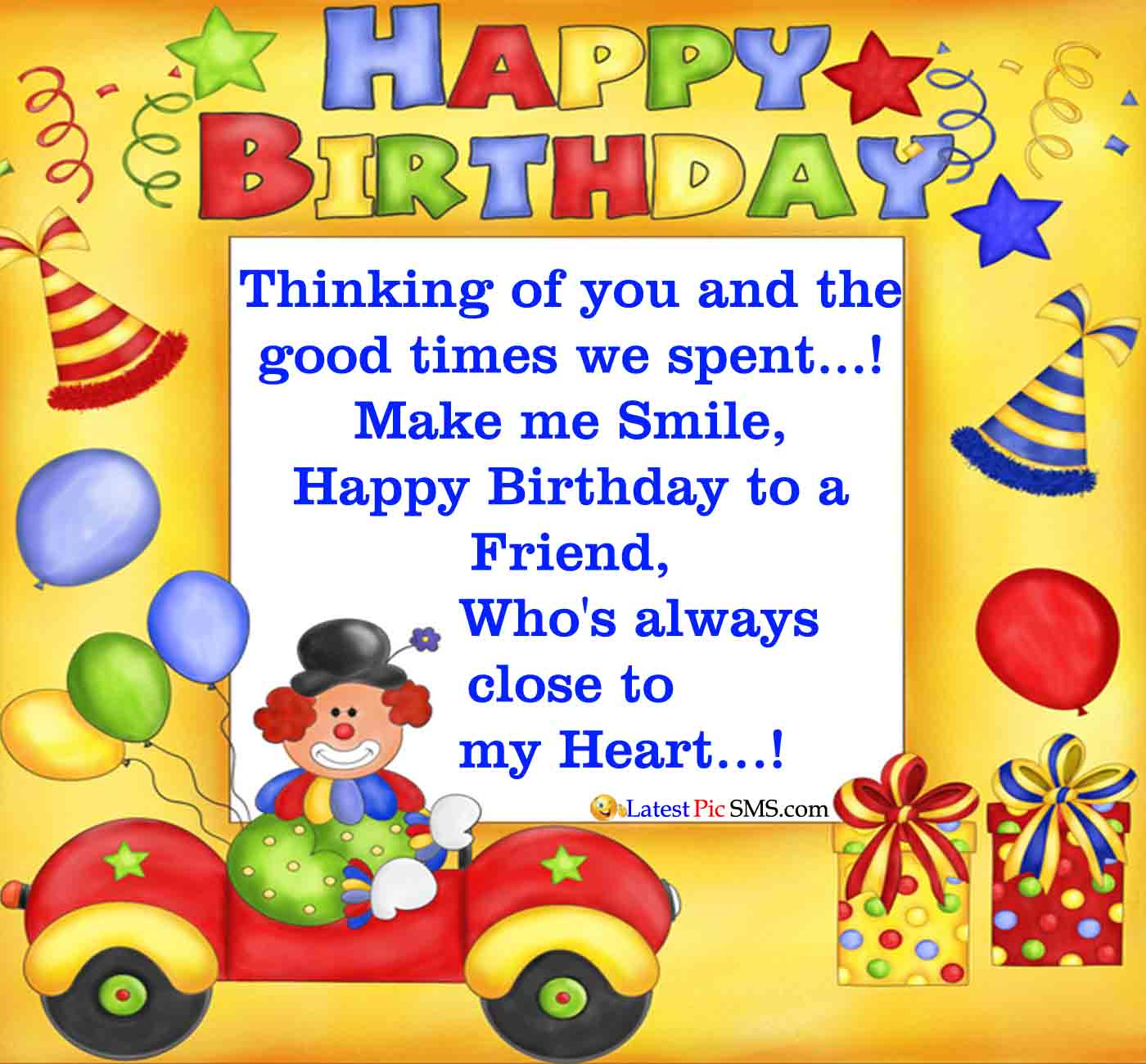 Birthday Wishes For A Friend On Her