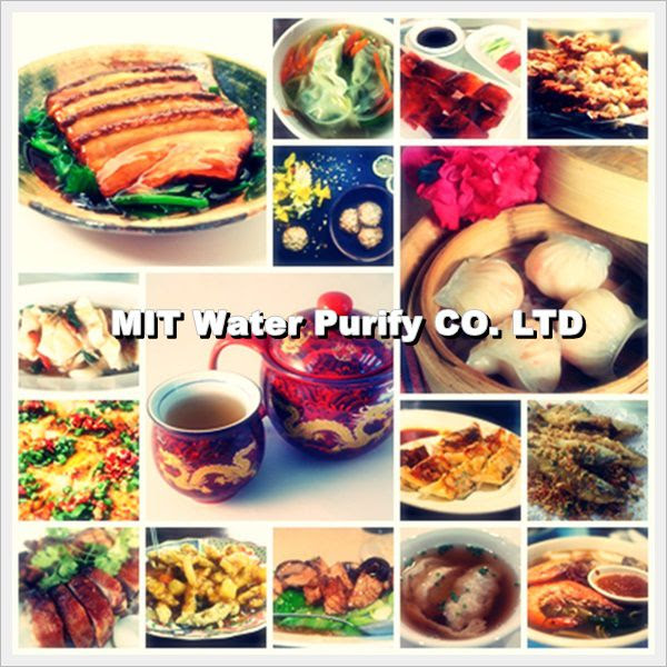 The Traditional Chinese Lunar New Year's Eve Dinner with many kind of delicious Chinese food -by MIT Water Purify Professional Team Company Limited
