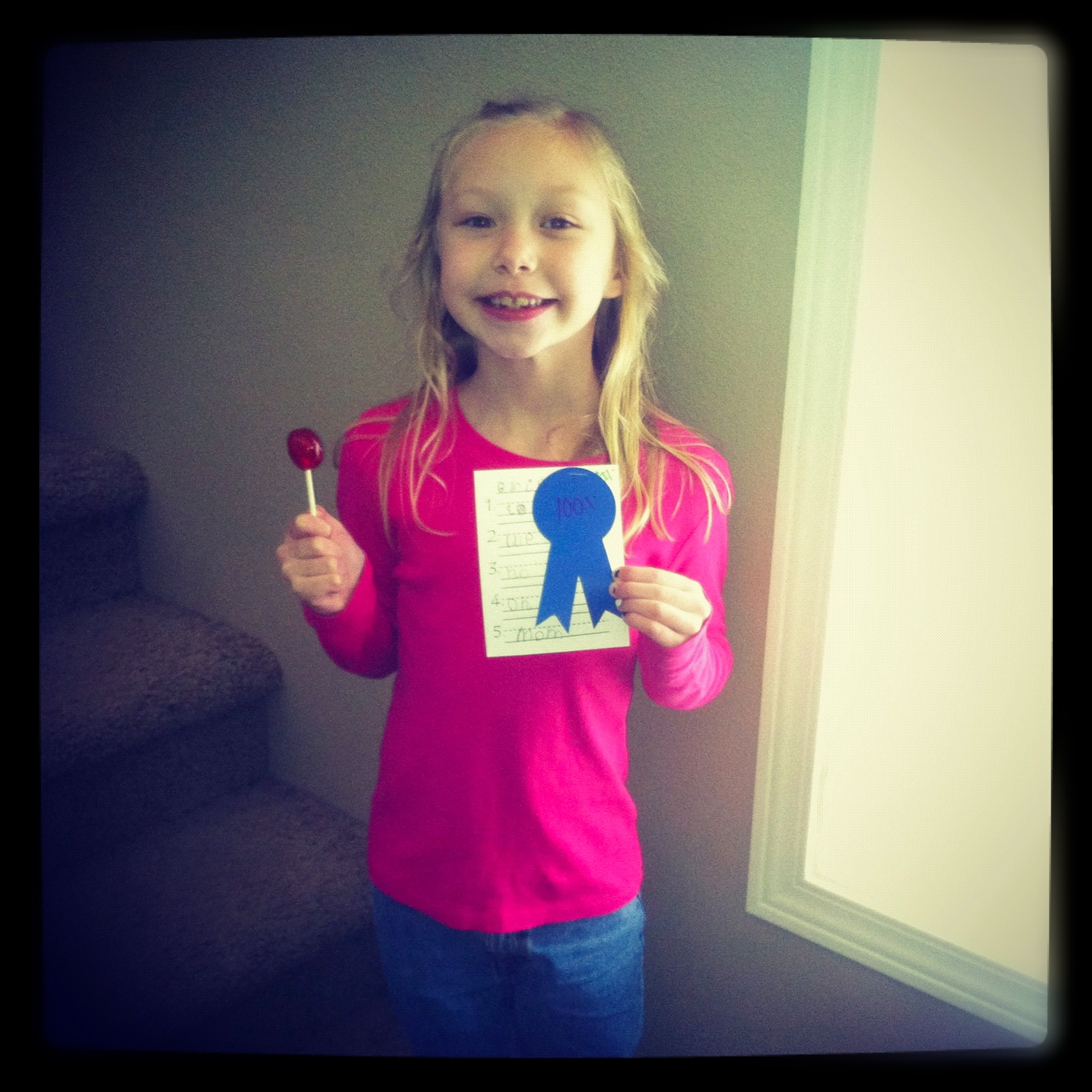 Rasmussen Reflections Brielle First 100 On Spelling Test Kindergarten