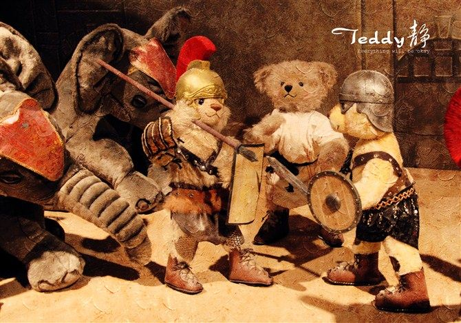 Teddy Bear ทหารโรมัน