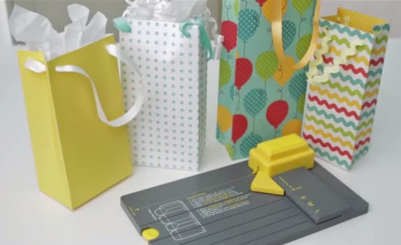 Create Gift Bags with the Punch Board by We R Memory Keepers
